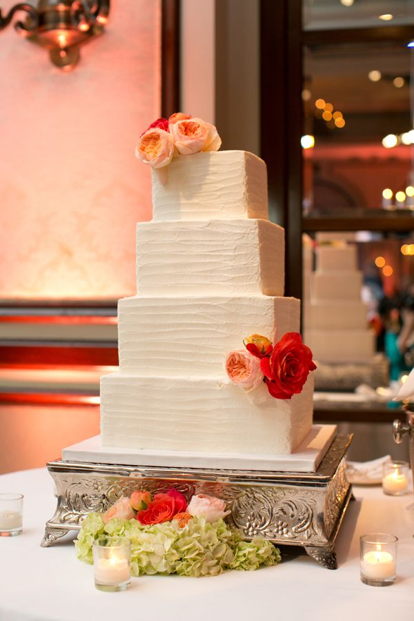wedding cakes in lagunbeach ca%0A Peach  u     Green Wedding Cake www significanteventsoftexas com