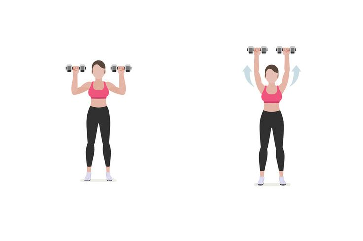 Végezd három sorozatban 15-15-ször ezt a gyakorlatot. A sorozatok közben az első képen látható mellmagasságnál ne engedd le jobban a kezedet!