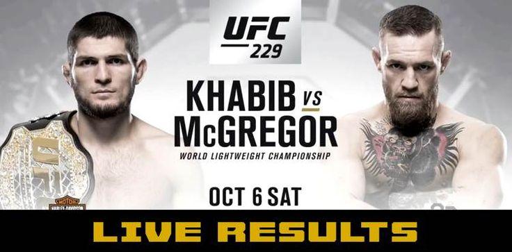 LIVE 【UFC】Watch UFC 229 Fight Khabib vs. McGregor live