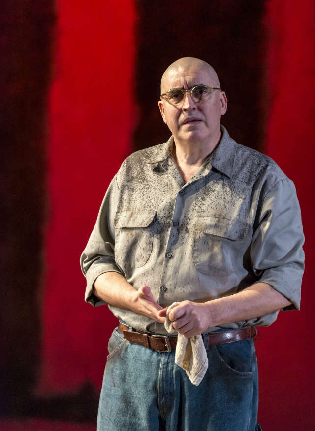 "Alfred Molina in ""Red"" by John Logan, Mark Taper Forum"