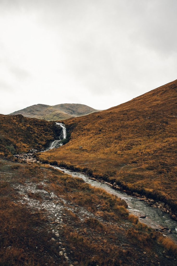 Wild rivers in Autumnal Scotland