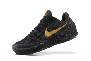 brand new c96fb 577aa Men's Nike Zoom Kobe Venomenon 5 EP Black Gold 749884 008 boys Basketball  Shoes