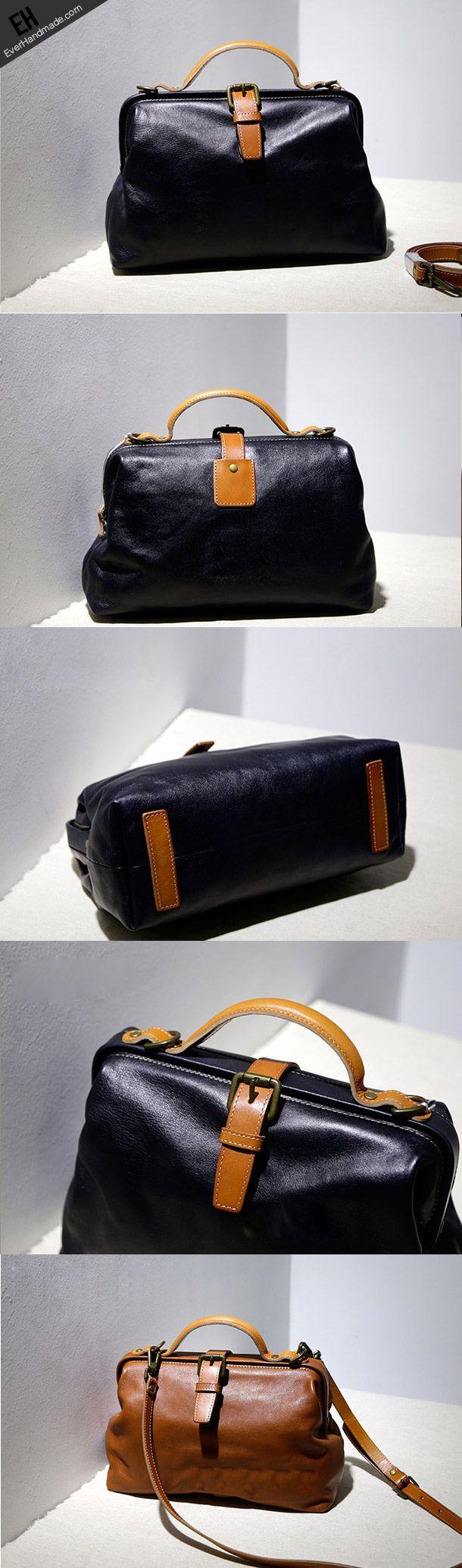 Handmade Leather tote bag shopper bag for women leather shoulder bag handbag – Vianney de Anda