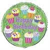 "Cupcake Party 18"" Mylar Balloon"