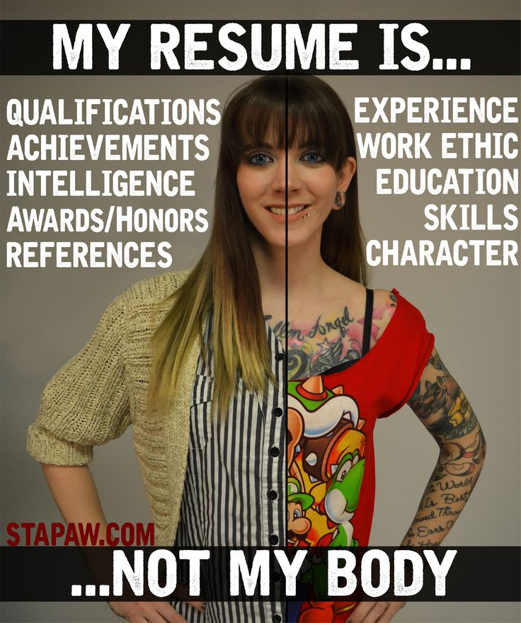 32 best tattoo acceptance in the workplace images on for Arguments against tattoos