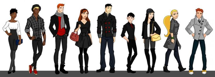 Young Justice Characters: Young Justice Season Team