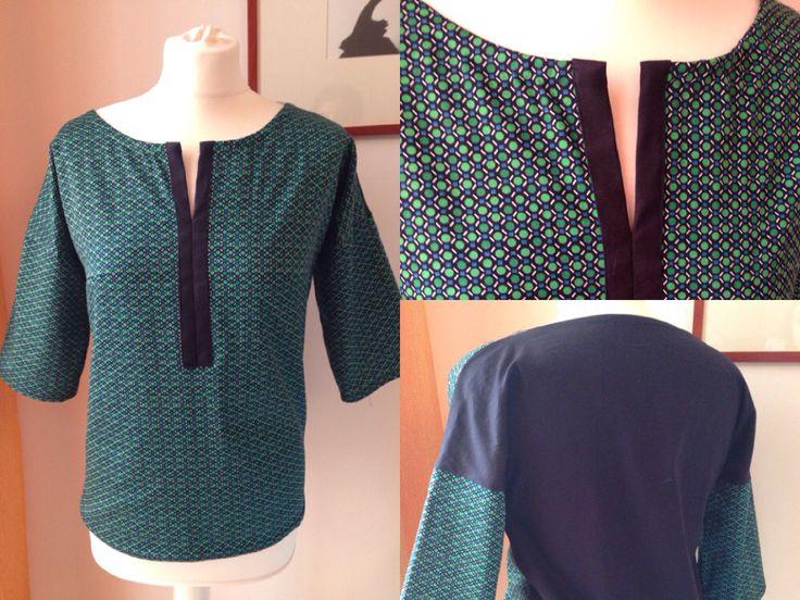 Blusa con manica a Kimono  - handmade by LoreLà