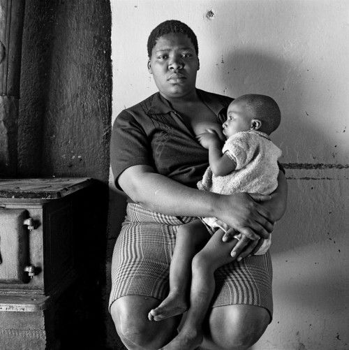 David Goldblatt, Queen Monyeki in her kitchen, 1388A White City, Jabavu, Soweto, 1972
