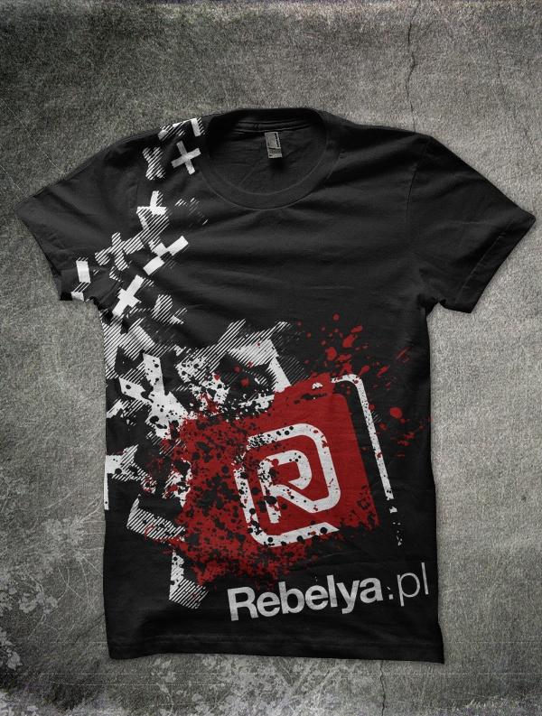 My startup - Rebelya.pl - the culture, society, art and politics portal tees one of many #tees #sleepingheroes #rebelya.pl