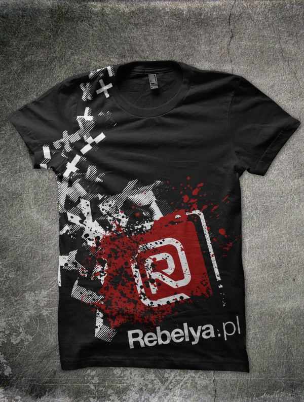 My startup - Rebelya.pl - the culture, society, art and politics portal tees one of many #tees #sleepingheroes #rebelya.pl