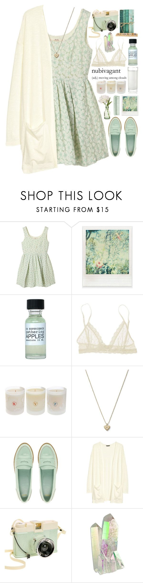 """Nubivagant"" by dayliant ❤ liked on Polyvore featuring Polaroid, GANT, Eberjey, Chopra Center, Michael Kors, Peony, ASOS, H&M and Lomography"