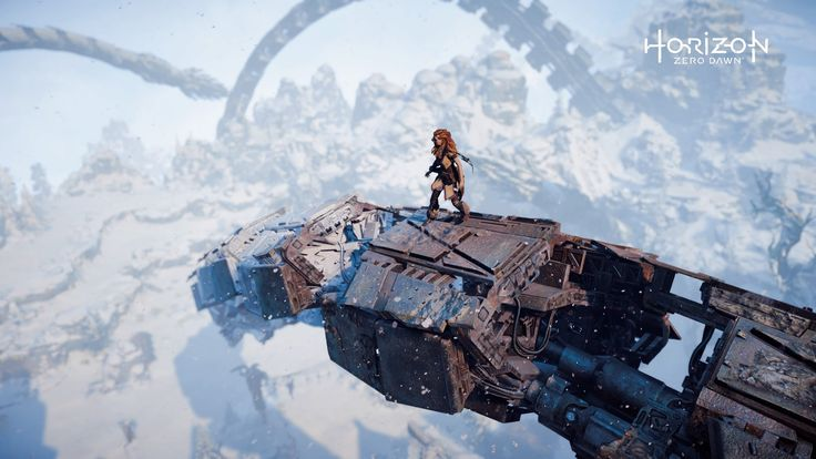 I love games without invisible walls - exploring is a blast in Horizon Zero Dawn