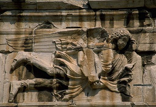Tower of the Winds, Athens - Detail