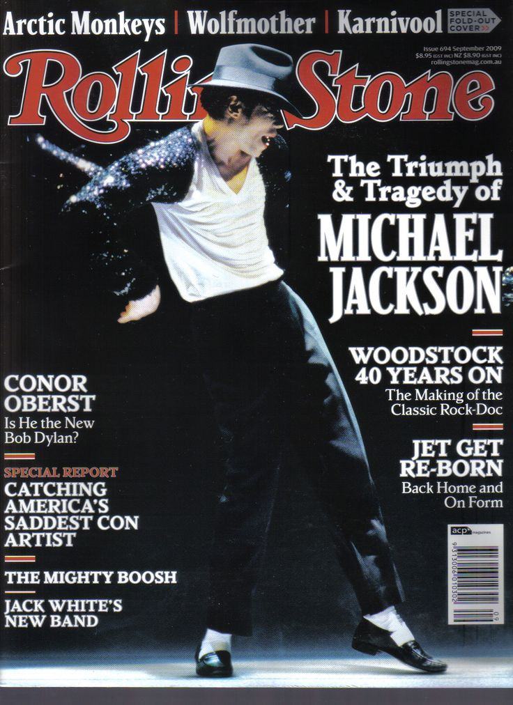Big Magazine Cover :: See Michael Jackson magazine cover in Rolling Stone from September 2009