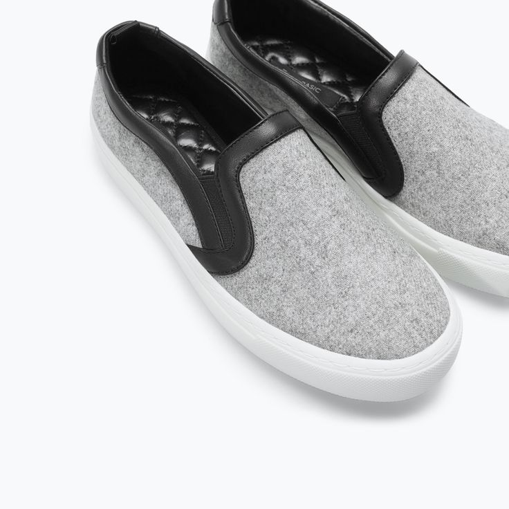 FABRIC PLIMSOLL from Zara ($79.90) - Casual neutral with the possibility of dressing up