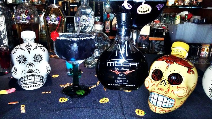Black Widow Margarita with MODA Tequila Black Reposado II