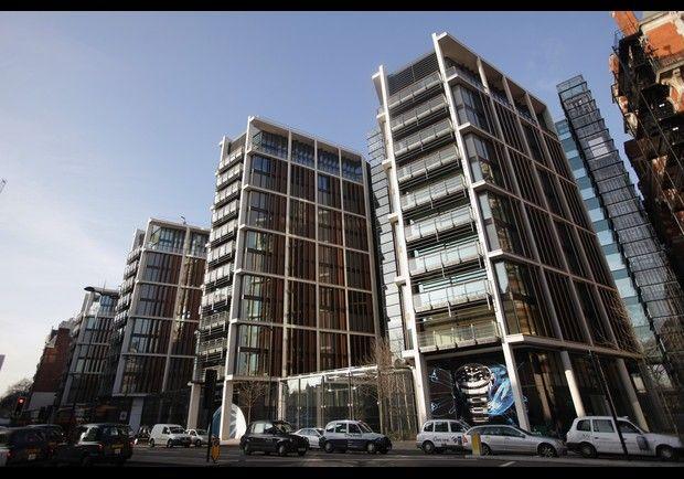 Rinat Akhmetov, Ukraine's richest man (worth 16 Billion) bought this penthouse at One Hyde Park, London for 136 million pounds (est.221 million usd). A staggering 25,000 ft, it also has bullet-proof & 24 hour concierge service.