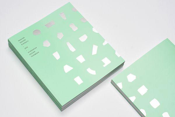 Hungarian Design Yearbook 2013 by Adam Katyi, via Behance