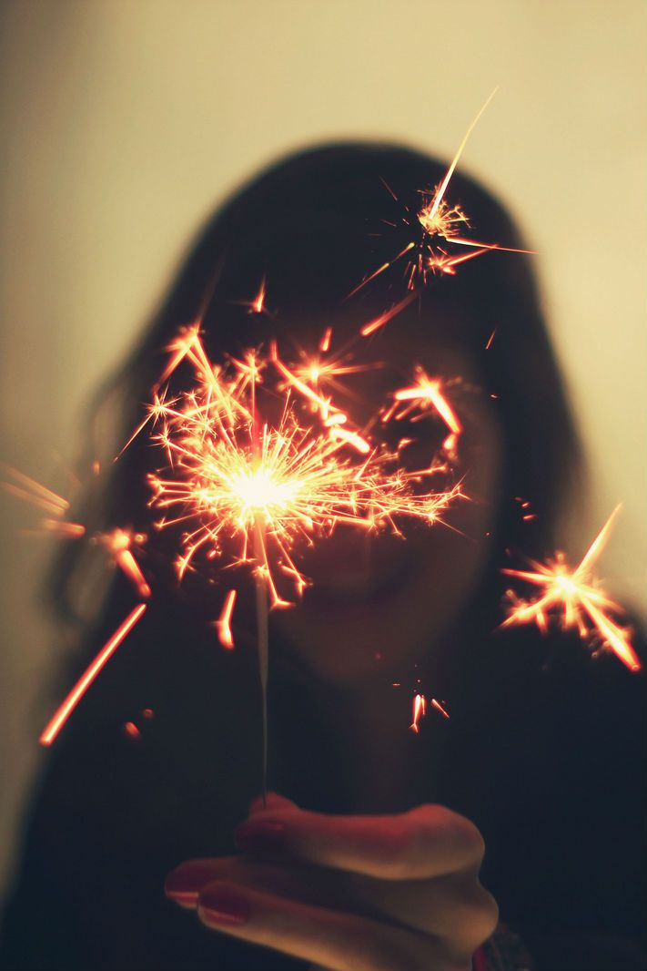 Because in all reality, what else matters but to throw sparks into the darkness?