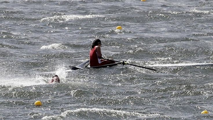 Rio Olympics (rowing called off due to poor weather conditions)