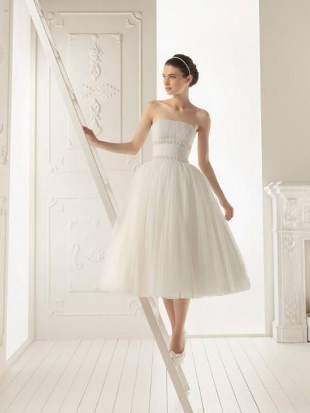 Платье свадебное для невысоких девушек