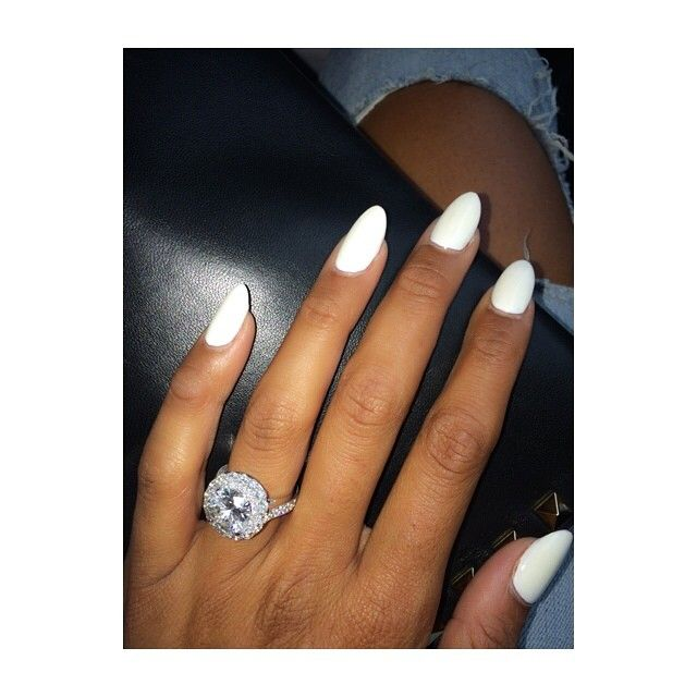 Kevin Hart's fiance's nails...but really pinning for the ring. #ididntknowwheretopinthis