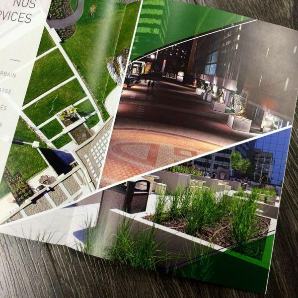 Conception brochure informative - Aménagemnet Pavatech