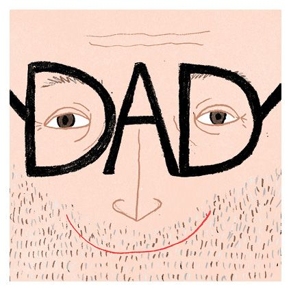 Fathers Day card design by Jasmine Hortop published by Urban Graphic Ltd.