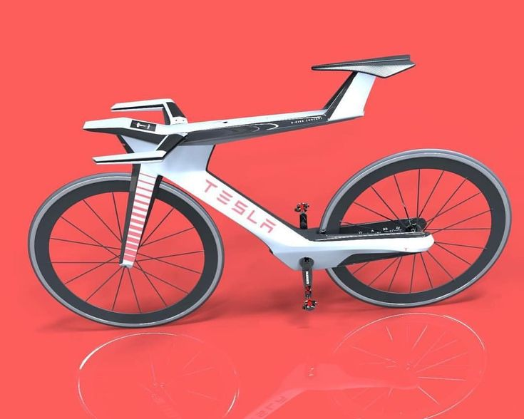 Tesla E Bike Concept With Integrated 4 Inch Display And In Frame
