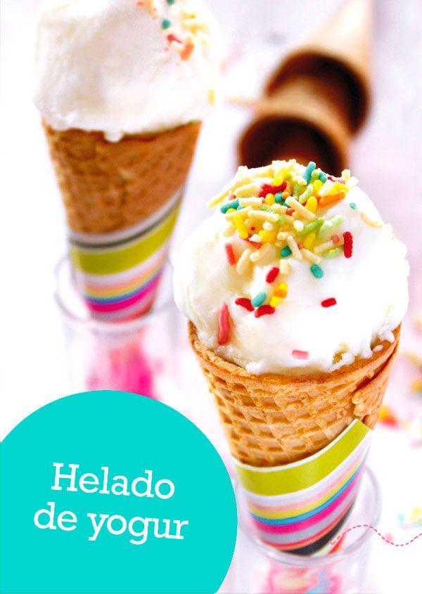 Recetas para niños: Helado de yogur con agar-agar, ¡fresquito y sano!