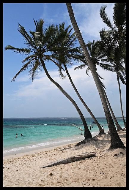Playa Blanca, cerca de Cartagena, Colombia