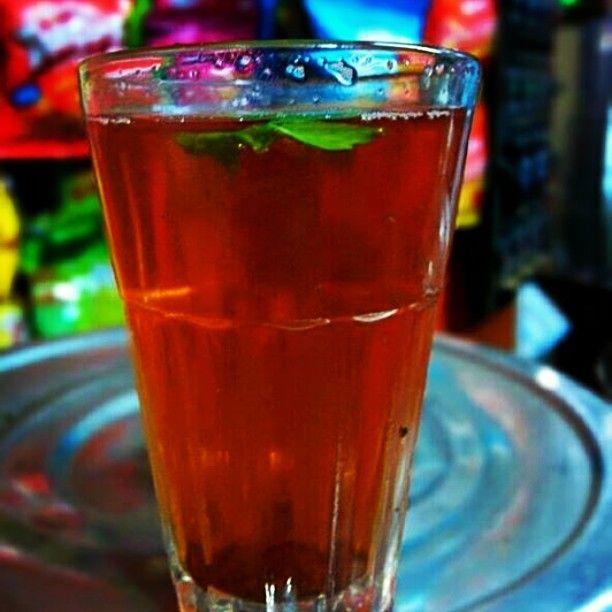 #Hot #Lemon #Tea with #Tulsi at #Bangalore #India #Health #Fitness