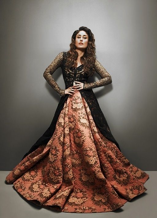 1000 images about long sleeve lehenga on pinterest for Long sleeve indian wedding dresses