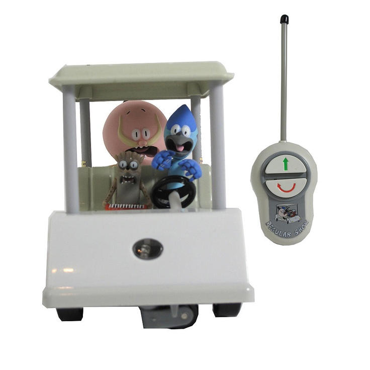 Regular Show 5 inch Radio Control Golf Cart