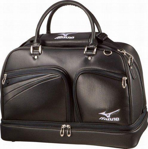 Mizuno Golf Japan 080 Model Boston Bag (Dual bottom, Shoes-in) [BLACK] 45BM08010 by Mizuno. $160.38