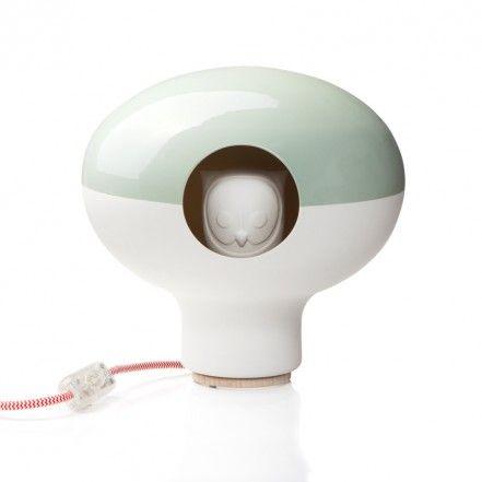 """Green lavender by Quarch Atelier  """"Nella mia casa ci saranno lampade ovunque. Sono oggetti che amo per l'atmosfera che creano con la loro luce. QU-ARCH green lavender, per (stupire) i comodini della camera degli ospiti."""""""