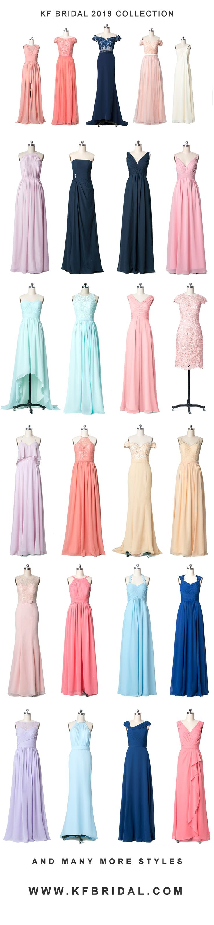 KF Bridal 2018 Collection Has Arrived!  All are up to 50% OFF  Free Shipping for all dresses!