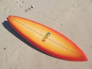 G&S Peter Townend Tubeshooter Single Fin Surfboard