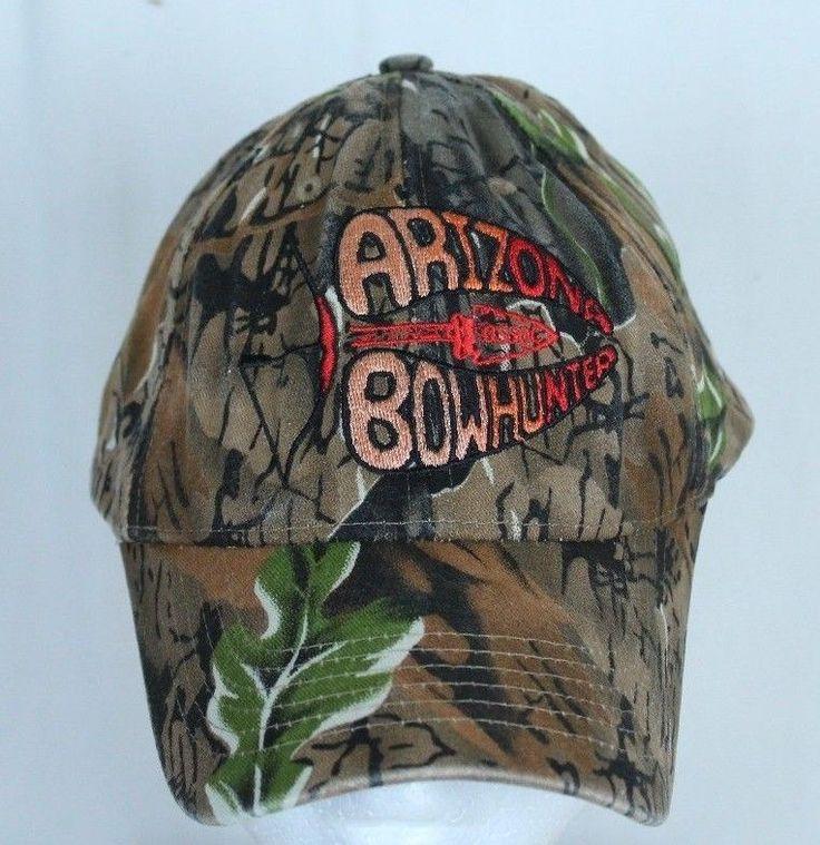 Arizona Bow Hunter Hunting Camouflage Ball Cap Trucker Hat Adjustable  #ShastaWear #BaseballCap