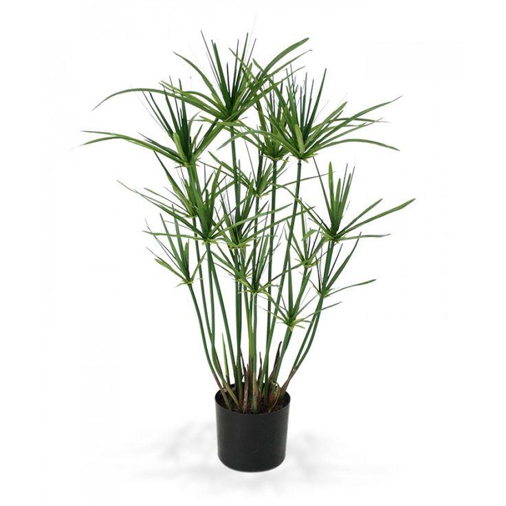 Papyrus kunstplant 65 cm - Maxifleur Kunstplanten