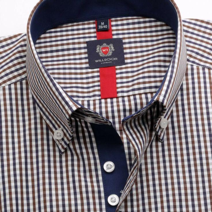 Koszula WR London (wzrost 176-182) - Wzrost 176-182 - Taliowane (Slim Fit) - Koszule męskie
