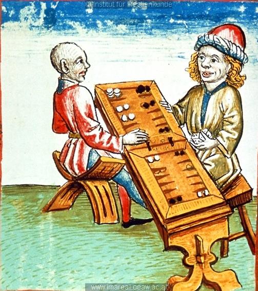 Tabula / Tric-trac game board