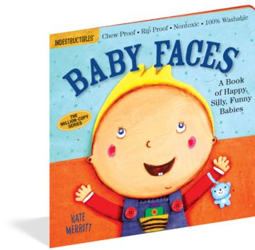 10 Best Books for Babies' Brains - Baby Faces: A Book of Happy, Silly, and Funny Babies #baby