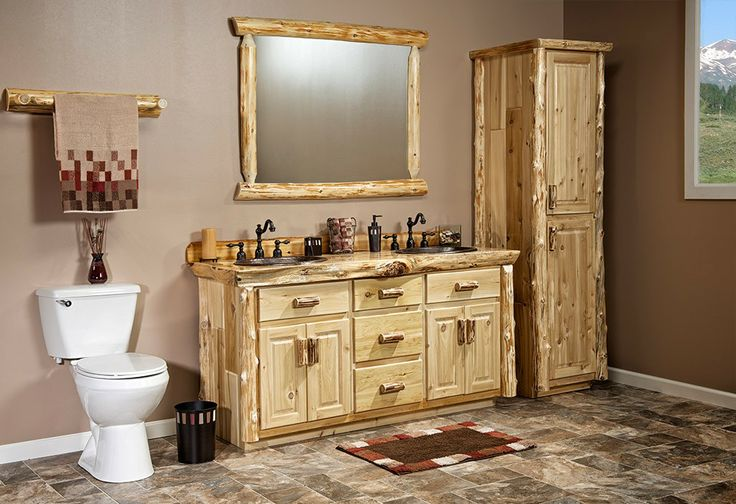 Real Cedar Log Cabin Linen Closet Jhe S Log Furniture Place Dream House Pinterest Log