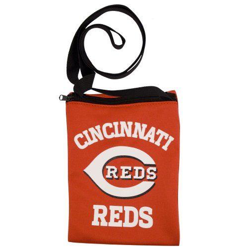 Cincinnati Reds Game Day Pouch (Red/Black/White) - http://www.redsball.com/cincinnati-reds-gear/cincinnati-reds-game-day-pouch-redblackwhite/