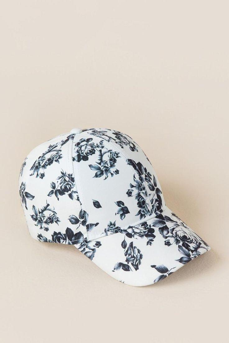 Juliet Floral Baseball Cap