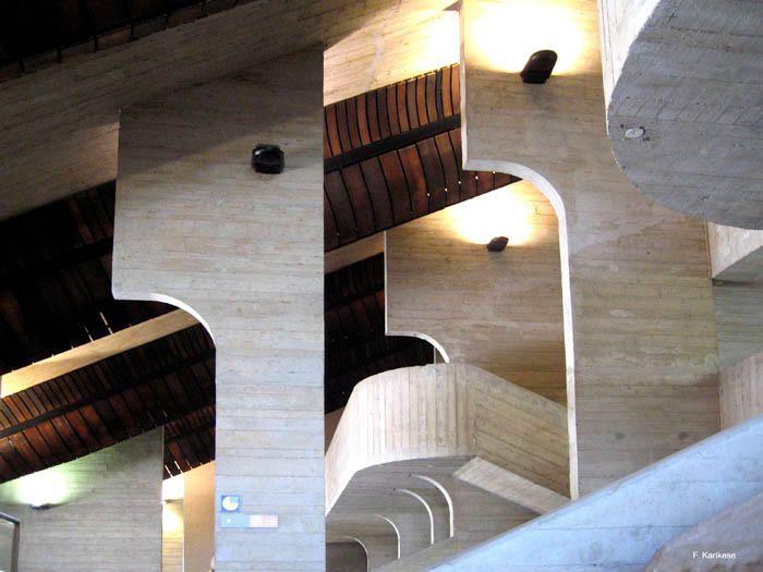 Louvain La Neuve, Belgium, University Library.