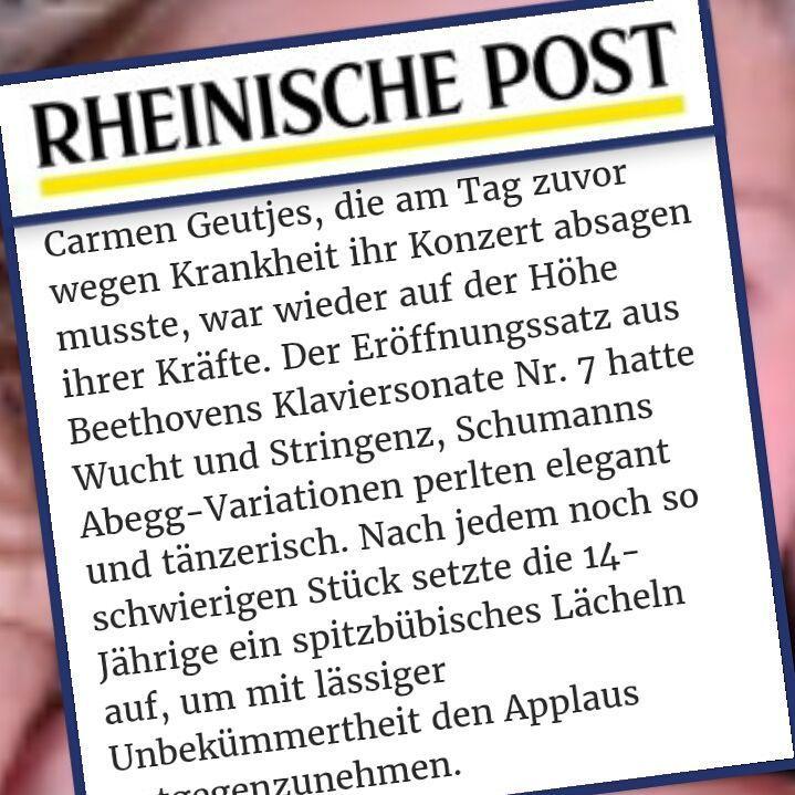 Report: Rheinische Post,   1st of August
