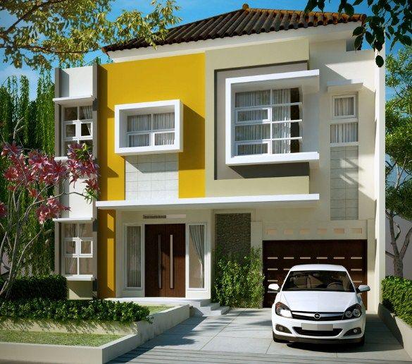 Gambar Teras Rumah Minimalis Tampak Depan 2 Denah Rumah Warna Eksterior Rumah Rumah Minimalis