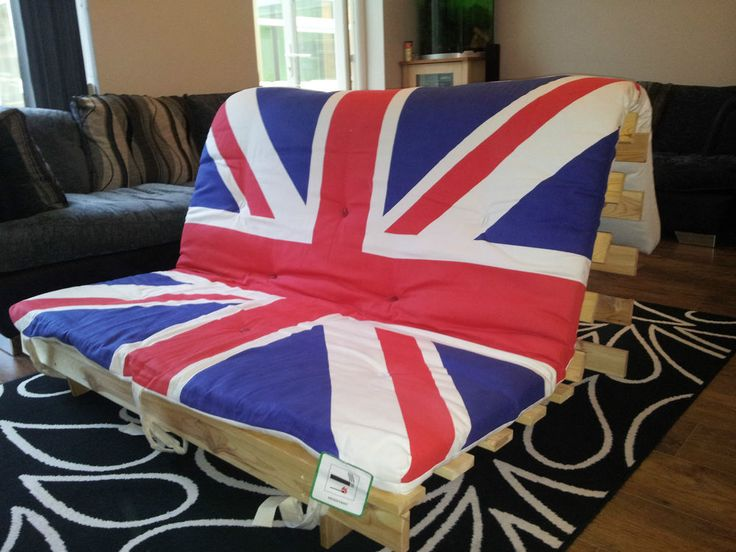 ikea kvidinge 22433 union jack sofa bed futon union jack